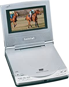 Initial IDM-9520 Portable DVD Player with 4-Inch LCD and Car Kit