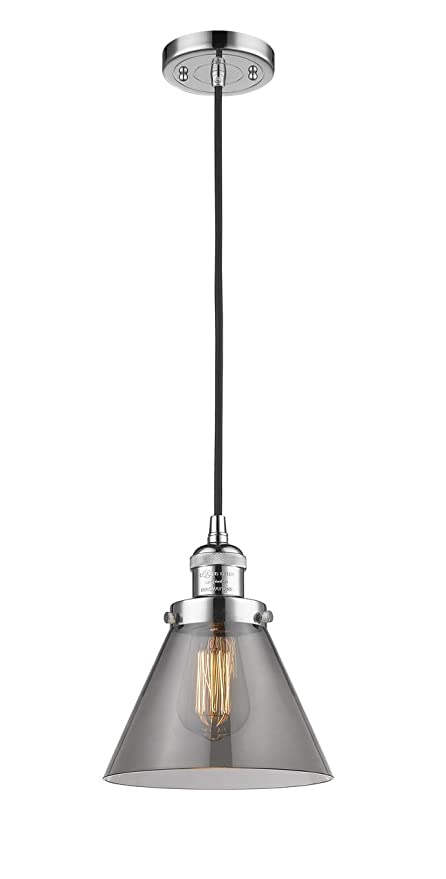 Innovations 201C-PC-G41-LED 1 Light Vintage Dimmable LED Mini Pendant Polished Chrome