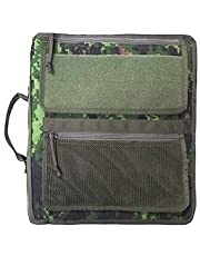 """Tactical 3-Ring XXtra Large Binder Briefcase (Fits 3"""" TO 4"""" Rings), All-Weather Zippered Binder Cover, Notebook Case"""