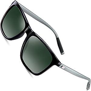 wearPro Wayfarer Sunglasses for Men Polarized Vintage Men`s Sun Glasses WP1003