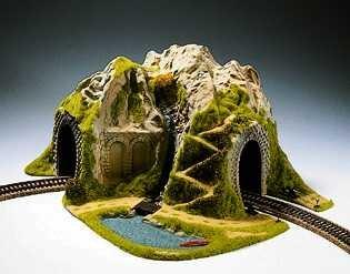 Top Model Train Tunnels