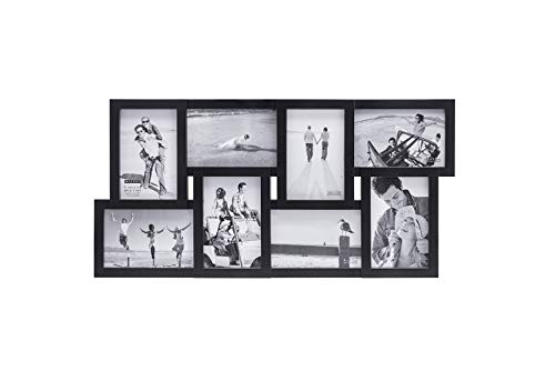 Malden 4x6 8-Opening Collage Matted Picture Frame - Displays
