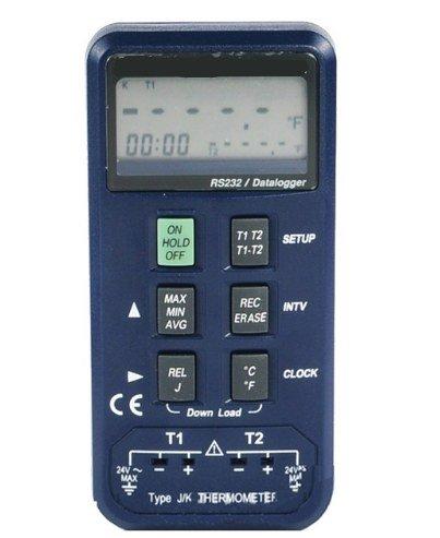 GOWE Digital de Registro de datos de entrada k/j tipo termopar termómetro Industrial termopar