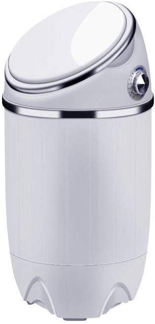 SCDSRQ Mini portátil Compacto Lavadora Lavadora Máquina portátil multifunción Inicio semiautomática con Dry deshidratación 690 * 340 * 340 mm, Blanca