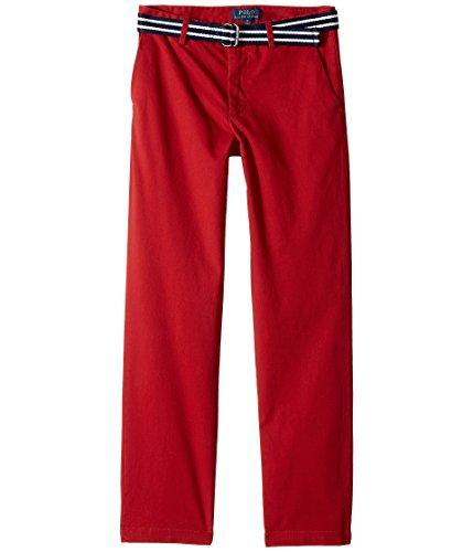 RALPH LAUREN Polo Boys Stretch Chino Pants & Belt (20, Camden (Ralph Lauren Belted Belt)