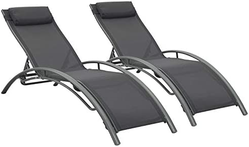 Adjustable Chaise Lounge Chairs Outdoor