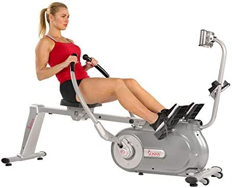 Sunny Health Fitness SFRW5639 Full Motion Rowing Machine for sale online