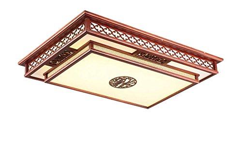 Plafoniere Con Base In Legno : Zwl plafoniera cinese retro in legno massello