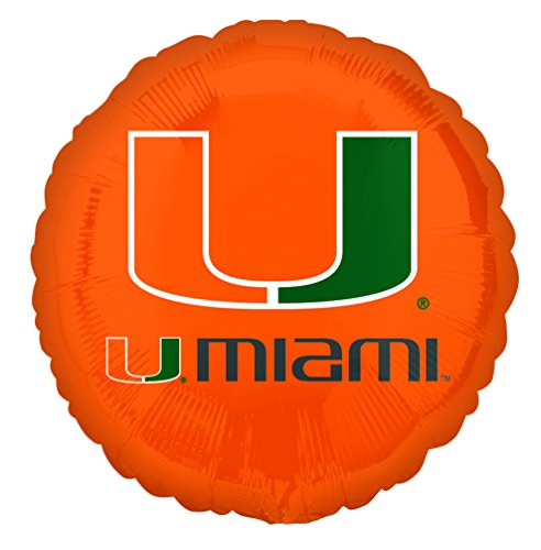 Anagram International University of Miami Flat Balloon, 18
