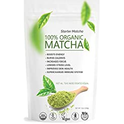 Starter Matcha Green Tea Powder 12oz (34...