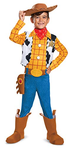 Costume For Boy (Disney Pixar Woody Toy Story 4 Deluxe Boys')
