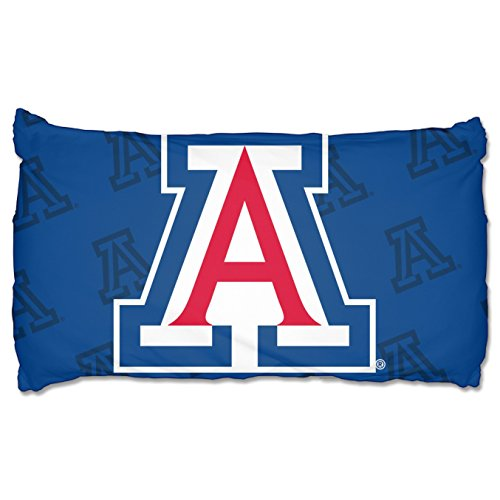 The Northwest Company NCAA Arizona Wildcats Pillowcase Setpillowcase Set, Blue, One Size