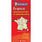 Carte routière : France Départementale et Administrative