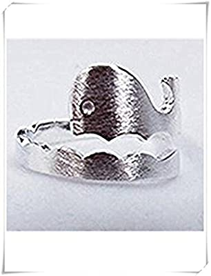One Life ,one jewerly Sterling Silver Whale ring