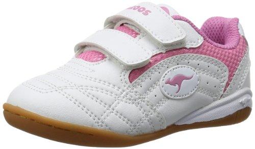 KangaROOS Babyyard 0040A - Zapatillas de deporte para niños White/Pink 6