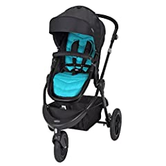 Meet the NEW Debut Sport 3 Wheel Stroller from Baby Trend. Designed in the colorful Cascade fashion, this sporty stroller is lightweight and comes equipped with all-terrain air tires for ease-of-maneuverability. Customize your journey in stro...