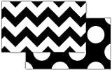 Teacher Created Resources 73174   Black & White Chevron Double-Sided Border