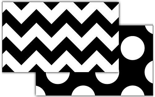(Teacher Created Resources 73174   Black & White Chevron Double-Sided Border)