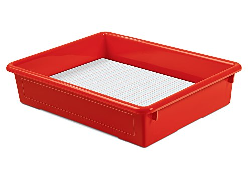 Lakeshore Heavy-Duty Paper Tray - Red