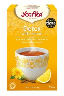 Yogi Tea Detox With Lemon Tea 17Bag by Yogi Tea