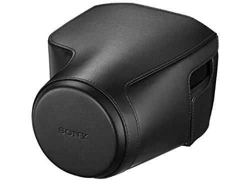 Sony Leather Jacket Case, Black - Cover Jacket Case Carrying