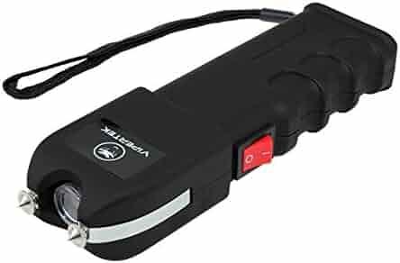 VIPERTEK VTS-989 - 999,000,000 Heavy Duty Stun Gun - Rechargeable with LED Flashlight
