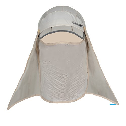 Outdoor Sun Hat/Man and woman fishing Cap/Summer sunhat/Mosquito-proof face-covering caps/Riding a scanning frequency caps/Hiking hats-C