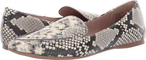 Steve Madden Women's Feather Loafer Flat Snake 12 M ()