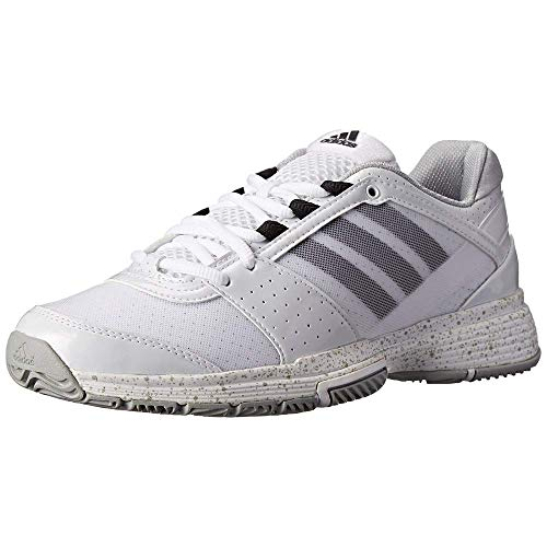 d82d6390484ba adidas Performance Women's Barricade Team 3 W Tennis Shoe, FTWR White/Black  1/Silver, 10 M US