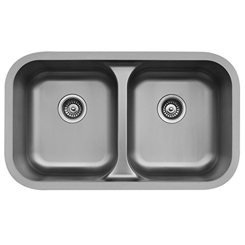- Edge E-350 Undermount Double Bowl Sink
