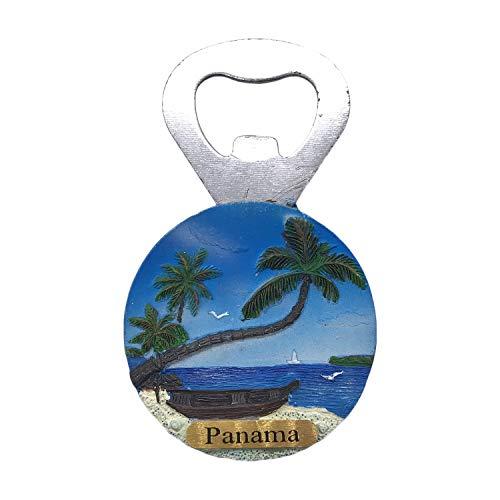 Panama 3D Fridge Magnet Tourist Souvenir Travel Sticker Bottle Opener Refrigerator Magnet Home Kitchen Decoration Collection from China