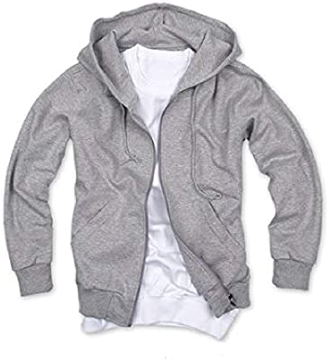 SayahMen Full-Zip Hooded Sports Pure Jackets Spring//Fall Casual Sweatshirts