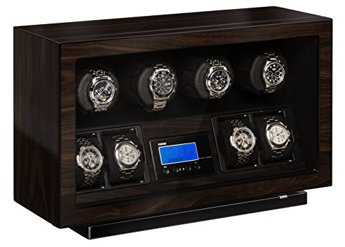 BOXY Automatic Quad Watch Winder with Brushless DC (BLDC) (New Quad Watch Winder)