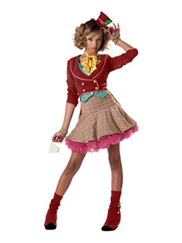 Mad Hatter Halloween Costumes Shoes - The Mad Hatter Teen/Junior Costume -