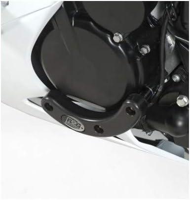 R/&G Racing Left Side Engine Case Slider for Suzuki GSXR 600//750 2011-2014 ECS0069BK
