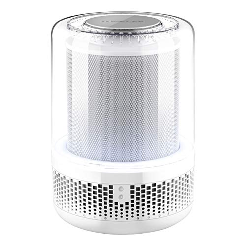 TOPELEK HEPA Air Purifier, Air Dust Cleaner for Home with True HEPA Filter for Odor, Allergies, Smoke, Dust, Mold, Pollen and Pets, Perfect Air Machine for Allergies, 250 Sq Ft