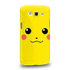 Case88 Premium Designs Pokemon Pokemon Pikachu Carcasa/Funda dura para el Samsung Galaxy Grand 2
