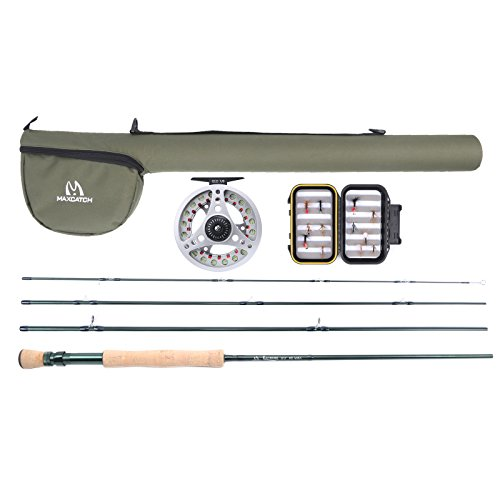 4 Piece Fly Rod Outfit - 6