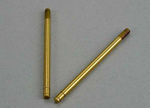 Traxxas TRA6098T Shock shafts, hardened steel, titanium nitride coated (rear) (2)