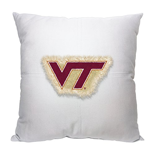 (The Northwest Company Officially Licensed NCAA Virginia Tech Hokies Womens Virginia Tech Hokiesncaa Toss Pillow, Chicago Maroon, 18