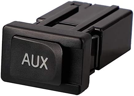 X AUTOHAUX Car Auxiliary Aux Stereo Adaptor 86190-06010 for 2005-2009 Toyota 4Runner 2007-2010 Toyota Camry 2007-2010 Lexus ES350