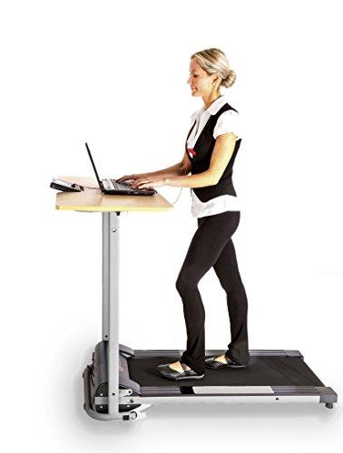 Office Fitness actiwork Laufband Schreibtisch weiß