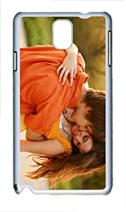 cover design Love Pair PC White case/cover for Samsung Galaxy Note 3 N9000