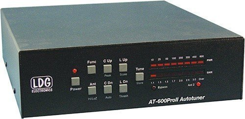 Cheap LDG Electronics AT-600PROII Automatic Antenna Tuner 1.8-54 MHz, 600 Watts, 2 Year Warranty