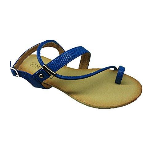 436f4eea7 MuDan Mu Dan Women s Thong Flat Gladiator Summer Sandals