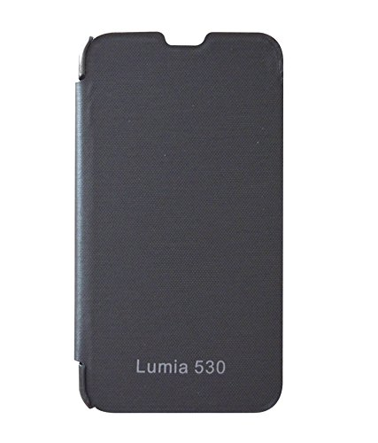 low priced 8c830 0f656 COVERNEW Flip Cover for Nokia Lumia 530 - Black