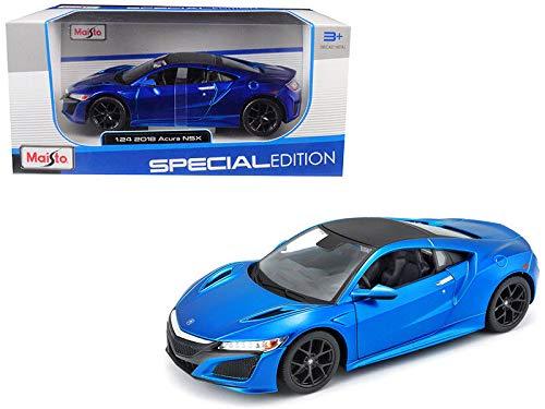 DIECAST 1:24 W/B - Special Edition - 2018 Acura NSX (Blue) 31234BL by MAISTO