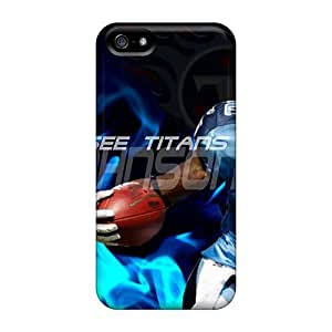 Protective Tpu Case With Fashion Design For Iphone 5/5s (the Ultimate Tennessee Titans Collection)
