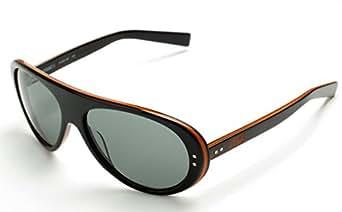 Nike Gafas de Sol VINTAGE76EV0601 (60 mm) Negro / Naranja