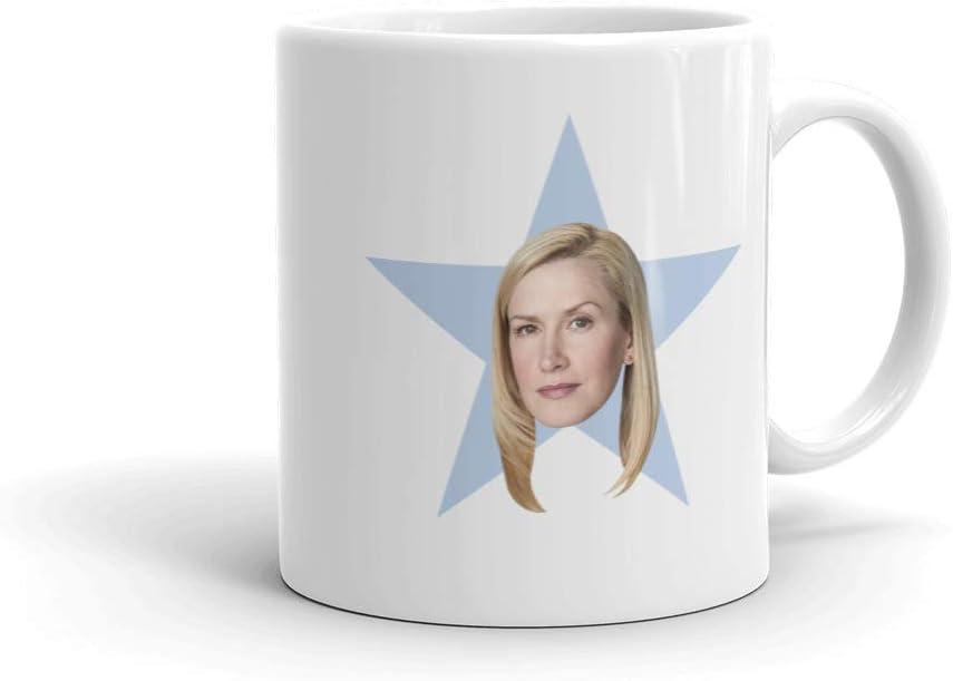 The Office Angela Star White Mug - 11 oz. - Official As Seen On Mug